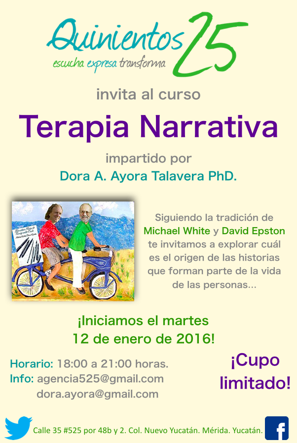 Curso Terapia Narrativa